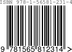 4 ISBN Barcode Images