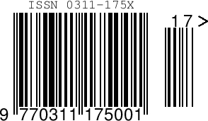 1 ISSN Barcode Image